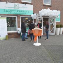 Der Eingang der Beauty Company Weyhe